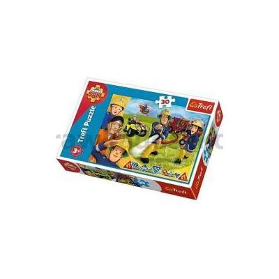 Puzzle 30 Gotowi by pomagać Strażak Sam TREFL-33782