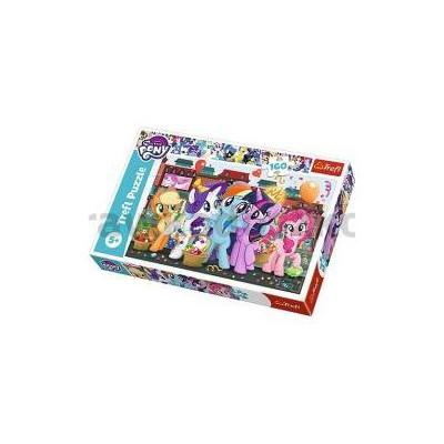 Puzzle 160 Kucyki na zakupach My Little Pony TREFL-33809