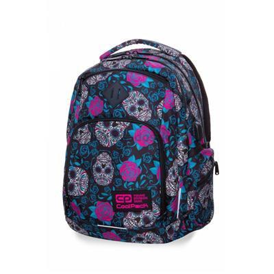 Plecak CoolPack BREAK w czaszki i róże, SKULLS