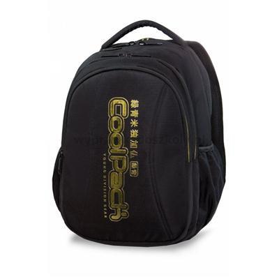 Plecak CoolPack JOY XL czarny ze złotymi dodatkami-34029