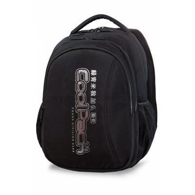 Plecak CoolPack JOY XL czarny ze srebrnymi dodatka-34030