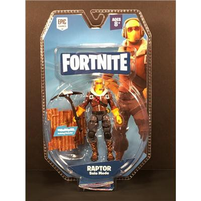 "Fortnite Solo Mode Raptor 4"" Action Figure New Jaz-34236"