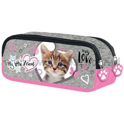 Piórnik saszetka My Little Friend CAT PINK-34682