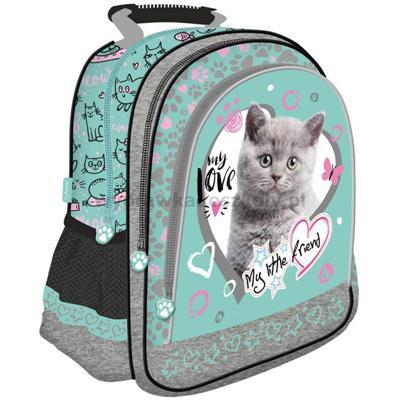 Plecak szkolny My Little Friend Kot Mint-34689