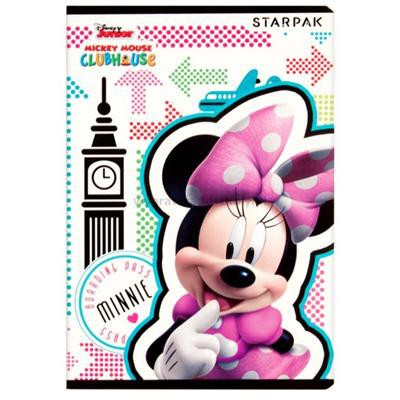 Zeszyt A5 16 kartek w linię Minnie STARPAK-34813