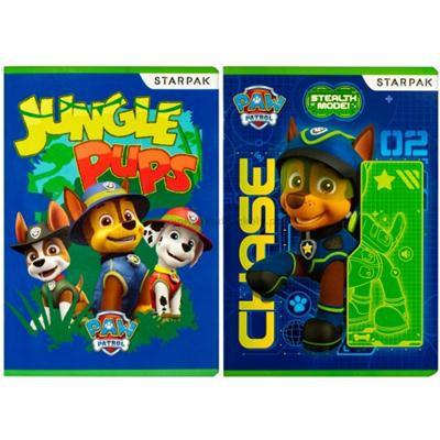 Zeszyt A5 16 kartek w kratkę Psi Patrol STARPAK-34810