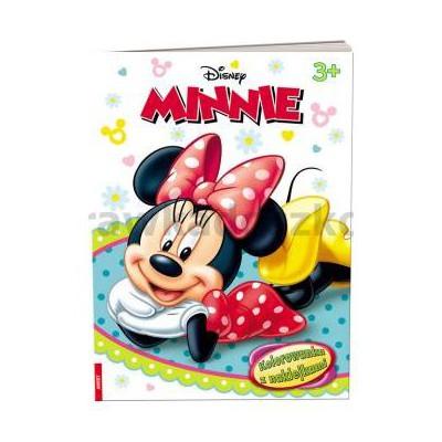 Minnie. Kolorowanka z naklejkami-34836