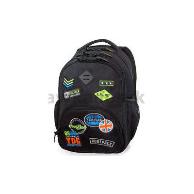 CoolPack Bentley Plecak Szkolny Badges Badges Blac-34939