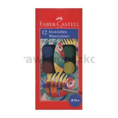 Faber Castell Farby Akwarelowe 12 Kolorów-35016