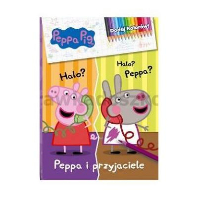 Świnka Peppa. Dodaj kolorów! Peppa i przyjaciele-35517