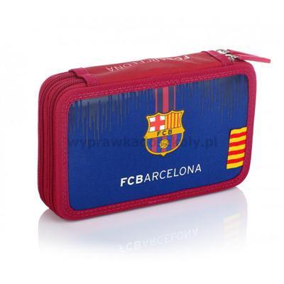Piórnik z wyposażeniem FC-236 FC Barcelona ASTRA-35549