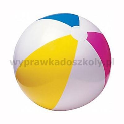 PIŁKA PLAŻOWA BASENOWA 61 cm TĘCZA - INTEX 59030-35667