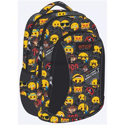 Plecak młodzieżowy ST.RIGHT Emoji EMOTIKONY BP32-35772
