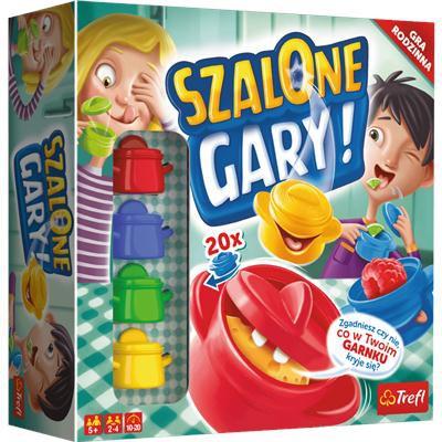Gra planszowa Szalone Gary Tefl 01767-36212