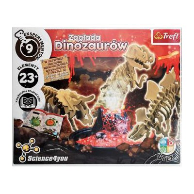 TREFL - SCIENCE4YOU - ZAGŁADA DINOZAURÓW 61101-36222