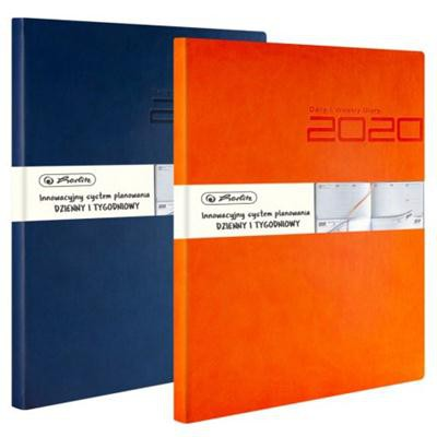 Kalendarz 2020 Tuscon Herlitz 21 x 27 cm - pomarań-37062