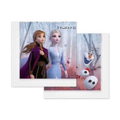 Serwetki urodzinowe Frozen 2 33x33cm 20szt-37265