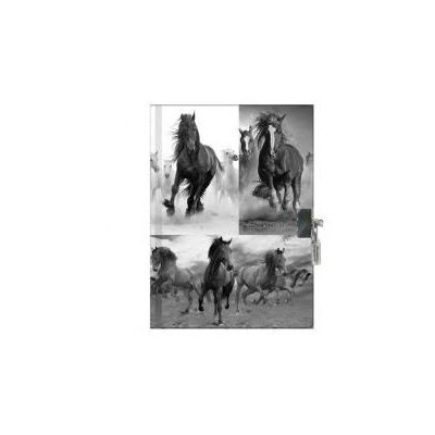 Pamiętnik z kłódką Horses pachnący 17-3650 PASO-37667