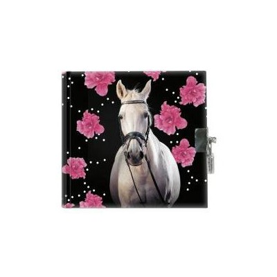 Pamiętnik z kłódką Horse 18-3640HR PASO-37671