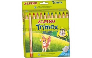 Kredki TRIMAX 12kol
