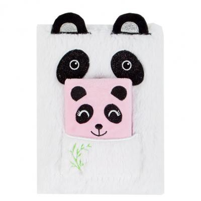 Pamiętnik pluszowy Panda 443213-37774