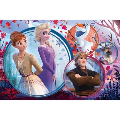 Puzzle 160el Siostrzana przygoda. Disney Frozen II-37968