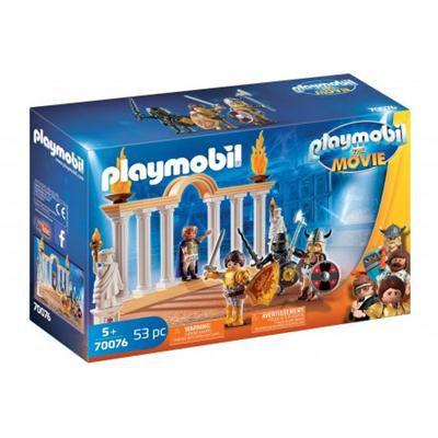 PLAYMOBIL THE MOVIE CESARZ MAXIMUS W KO-38422