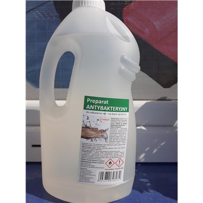 Preparat antybakteryjny do odkażania rąk 2l -38775