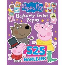 Świnka Peppa. 525 naklejek Bajkowy świat Peppy-39851