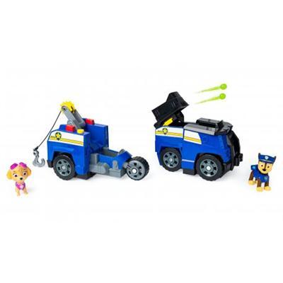 Psi Patrol - Transformujący Pojazd 2w1-39962