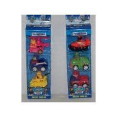 Psi Patrol 3Pack figurki w pojazdach ppg4-42707