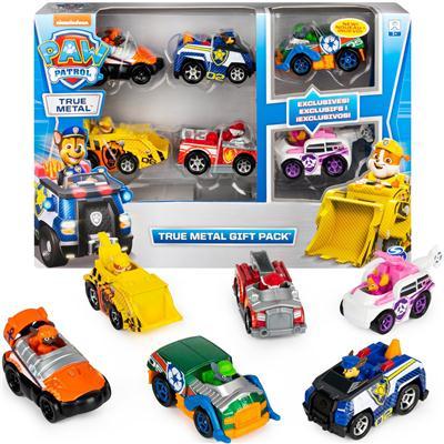 Zestaw prezentowy 6 pojazdów wyścigowych Psi Patro-43015