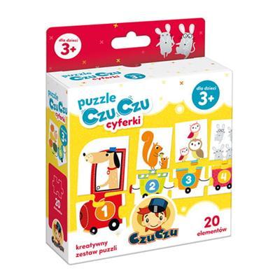CzuCzu Puzzle cyferki-41364