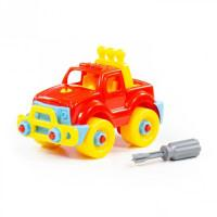 """Polesie 78216 Klocki - transport """"Jeep"""" 22el. w wo-40954"""
