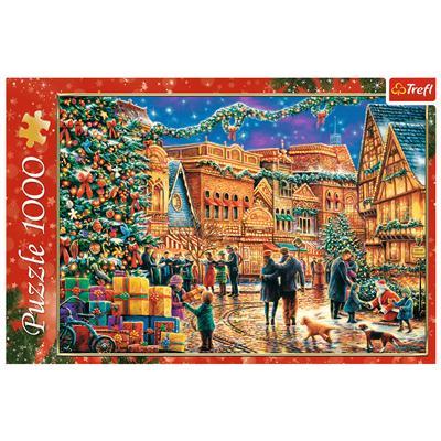 Puzzle 1000el Świąteczny rynek 10554 Trefl-44718