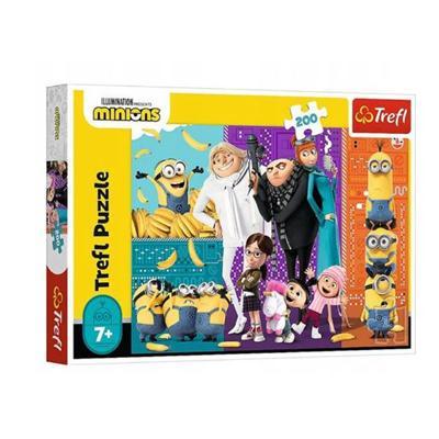 Puzzle 200el Minionki górą 13275 TREFL-44724