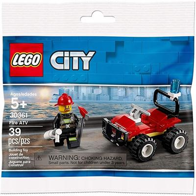 LEGO CITY STRAŻACKI QUAD KLOCKI SASZETKA 30361-45267
