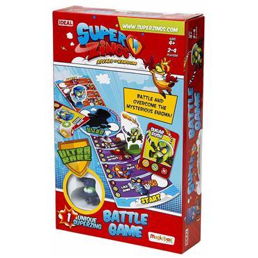 Super Zings Gra Planszowa Bitewna + figurka Enigma