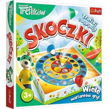 Gra zręcznościowa Skoczki Rodzina Treflików Trefl