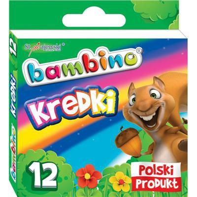 KREDKI BAMBINO 12KOL SZKOLNE-43907