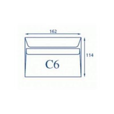 KOPERTA C6 SK BIAŁA A50-4044