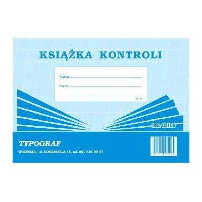 KSIĄŻKA KONTROLI A5 02106 148-1005