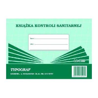 KSIĄŻKA KONTROLI SANITARNEJ 02111-1006