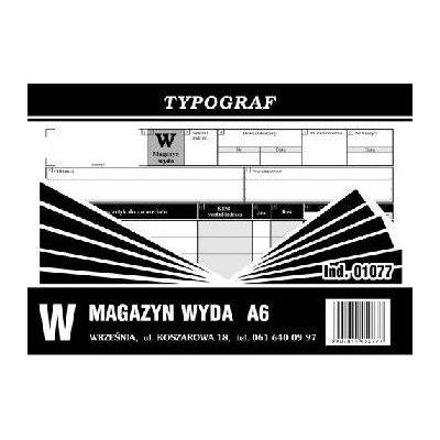 MAGAZYN WYDA A6 /S/ 01077-1024