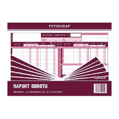 RAPORT OBROTU TYPOGRAF A4-1147