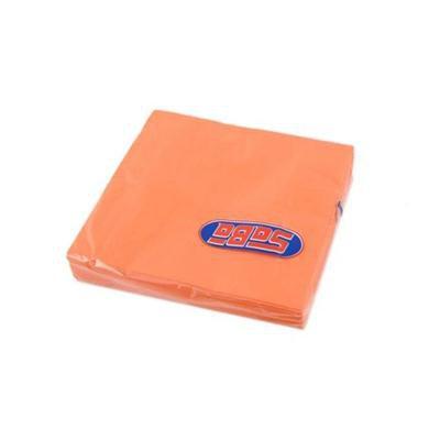 Serwetka składana 33x33cm 3w 20szt Pomarańcz SABA-46502