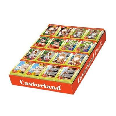 PUZZLE MINI 54 el. CASTORLAND MIX-24137