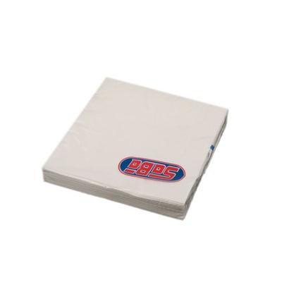 Serwetka składana 33x33cm 3w 20szt biała SABA-46508