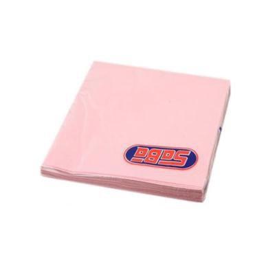 Serwetka składana 33x33cm 3w 20szt Różowa SABA-46500