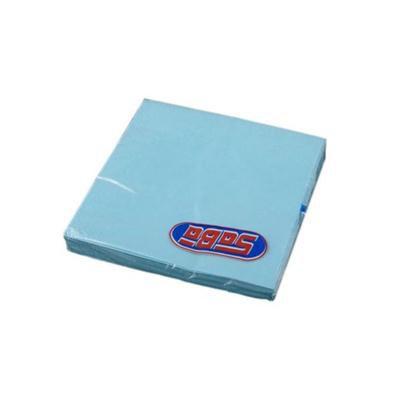 Serwetka składana 33x33cm 3w 20szt błekitna SABA-46506